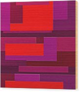 Funky Wood Print by Ely Arsha