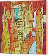 Fusion Nr.42 Wood Print