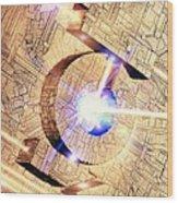 Future Computing, Conceptual Image Wood Print
