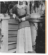 Future Duchess Of Windsor Wallis Wood Print
