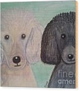Gabriel And Belle Wood Print