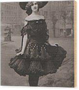 Gabrielle Ray Ca.1905 Wood Print
