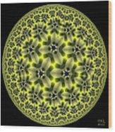 Gaia Green Wood Print