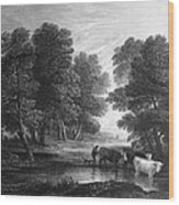 Gainsborough: Scenic View Wood Print