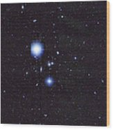 Galaxy Cluster Abell 1060, Infrared Wood Print