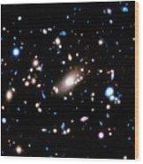 Galaxy Cluster Wood Print