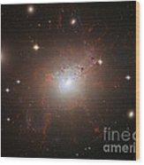 Galaxy Ngc 1275 Wood Print