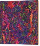 Galaxy Of Psychedelia Wood Print