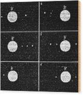 Galileo's Jovian Moon Observations, 1610 Wood Print