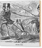 Gallant Admirers, 1869 Wood Print