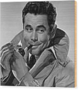 Gallant Journey, Glenn Ford, 1946 Wood Print by Everett