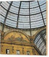 Galleria In Milan I Wood Print