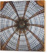 Galleries Laffayette Paris France Wood Print