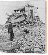 Galveston Flood Damage - September - 1900 Wood Print