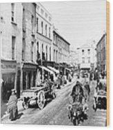 Galway Ireland - High Street - C 1901 Wood Print