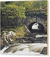 Galways Bridge, Killarney National Wood Print