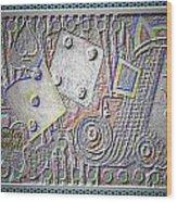 Gambling Memories Wood Print