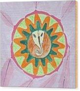 Ganesh Mandala Wood Print by Sonali Gangane