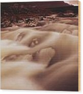 Gap Of Dunloe, River Loe, County Kerry Wood Print