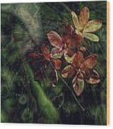 Garden Abstract 6 Wood Print