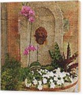 Garden Deco Wood Print