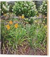 Garden Delight Wood Print
