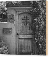 Garden Doorway 2 Wood Print