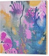 Garden Fantastico Wood Print