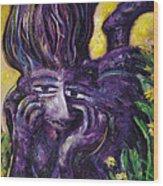 Garden Of Dreamers Wood Print
