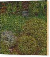 Garden Of Dreams Wood Print