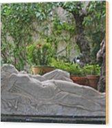 Garden Repose Wood Print
