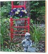 Garden Stil Llife 1 Wood Print