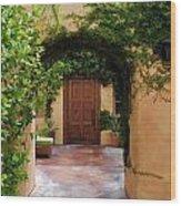 Garden Suite Wood Print