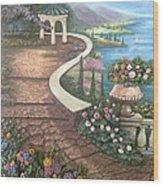 Garden View 3 Wood Print by Prashant Hajare