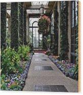 Garden Walk Ll Wood Print