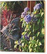 Garden Zen Art Wood Print