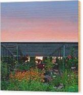 Gardeners Paradise 1 Wood Print
