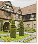 Gardens At Cecilienhof Palace Wood Print
