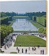 Gardens At Palace Of Versailles France Wood Print