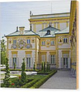 Gardens Of Wilanow Palace - Warsaw Wood Print