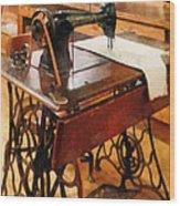 Garment Factory Wood Print