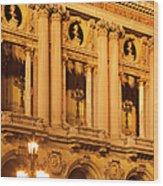 Garnier Opera House Wood Print
