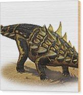 Gastonia Burgei, A Prehistoric Era Wood Print