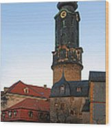 Gatehouse Weimar City Palace Wood Print