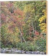 Gateway To Fall Wood Print