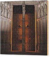 Gateway To The Underworld Wood Print