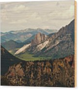 Gateway To Yellowstone National Park Wood Print