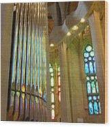 Gaudi's Vision Wood Print