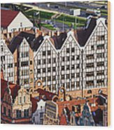 Gdansk Granaries Wood Print