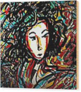 Geisha 7 Wood Print